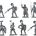 CHEVALIER <b>ROI</b> <b>ARTHUR</b> TOYWAY TOY SOLDIERS MADE IN ENGLAND