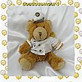Peluche Doudou Ours Colin Le Capitaine Marin The Teddy <b>Bear</b> Collection