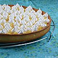 <b>Tarte</b> au <b>citron</b> <b>meringue</b>