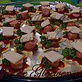 <b>Recette</b> : facile - les minis pizzas étoilées pour l'apero dinatoire . . .