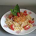 Mafalde Corte au <b>Pesto</b> Rouge