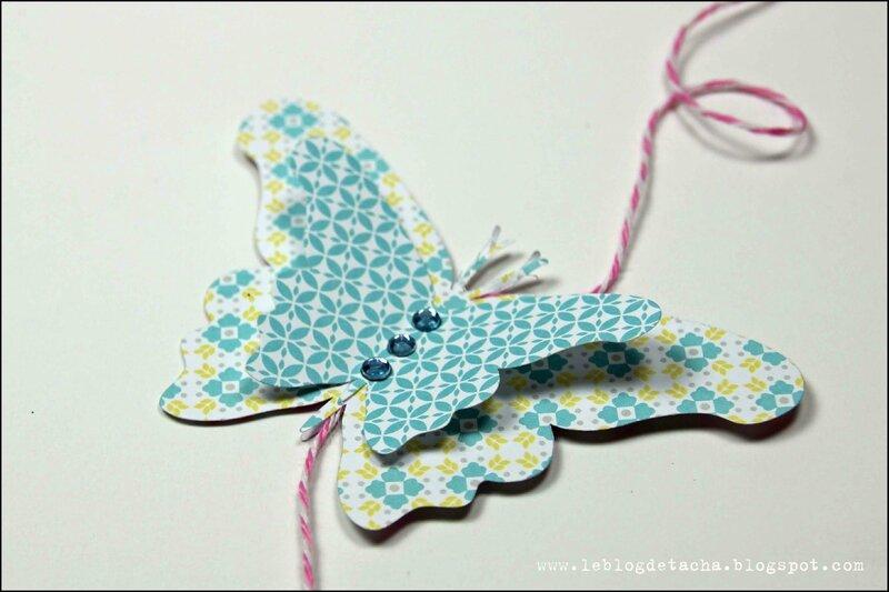 guirlande papillons color factory - DT Tacha 2p