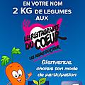 UN PTIT <b>CLIC</b> : OFFRE 2kg de légumes aux RESTOS DU COEUR 😉