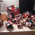 Rubik's cubes en cartonnage