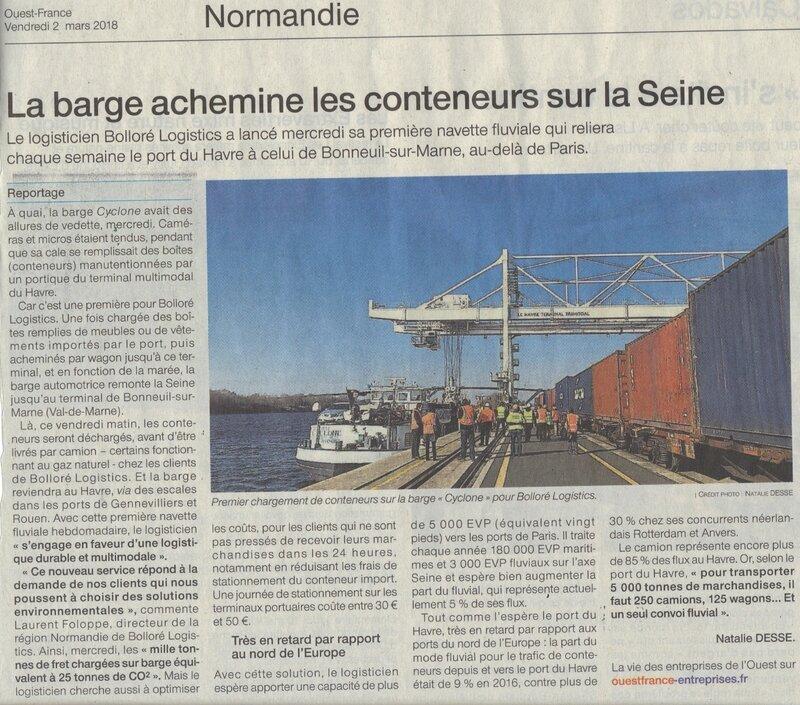 Axe SEINE, EOLIENNES MARINES: Selon Ouest-France, la Normandie est agie par les BRETONS quand ce ne sont pas les AMERICAINS…