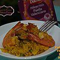 <b>paella</b> aux fruit de mer à ma façon { avec le sachet