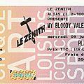 My Bloody Valentine - Mercredi 9 Juillet 2008 - <b>Zénith</b> (Paris)