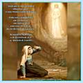 Dia 1 - 1ª aparição de Nossa Senhora de <b>Lourdes</b>