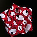 Irsih Red Sheep, nouveau tissu pour vos accessoires