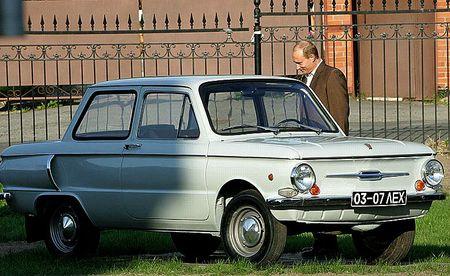 10 - ZAZ 968 (Vladimir Poutine)
