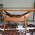 TABLE SCANDINAVE <b>RELEVABLE</b> Olafson
