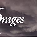 Ô merveilleux orage que le courage d'écrire