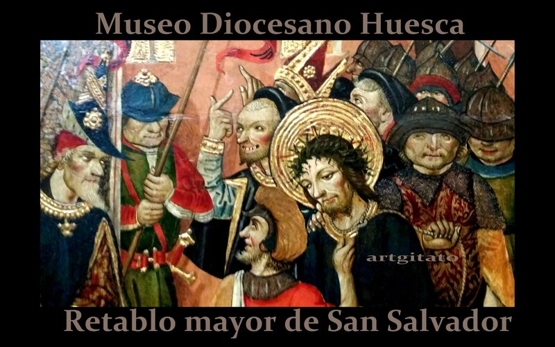 Huesca Museo Diocesano Artgitato 2 Retablo mayor de San Salvador