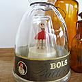 Vintage ... Anciennes bouteilles musicales LUCAS BOLS * Ballerines