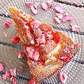 ...Gâteau lyonnais poires/pralines roses pour la bonne cause... (Marché de la poire et du terroir de Chasselay/Octobre rose)