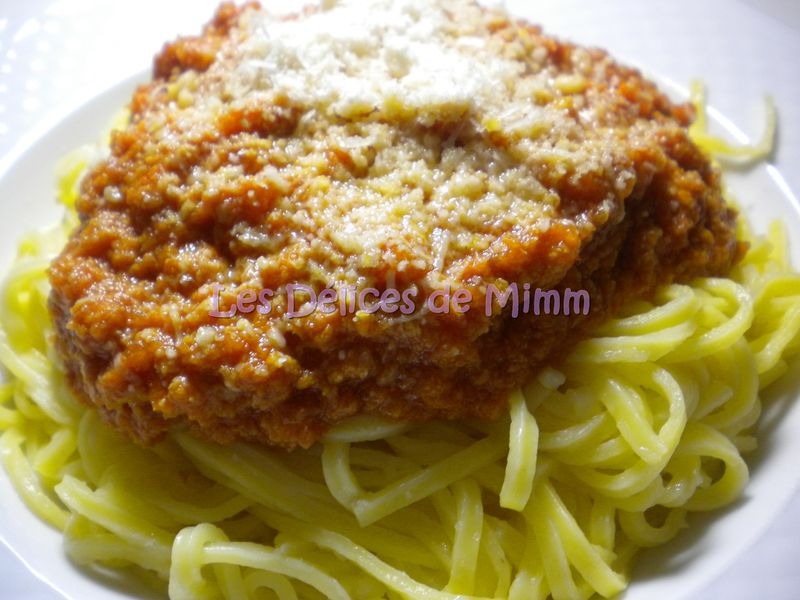 Sauce bolognaise au soup co blogs de cuisine - Recette moulinex soup and co ...