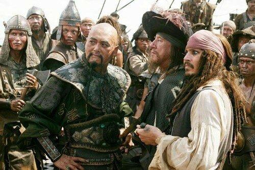 Sao Fang, Barbossa & Jack Sparrow