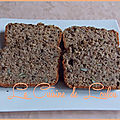 Cake au café & mix de graines