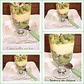 Coupe de crème vanillée aux kiwis