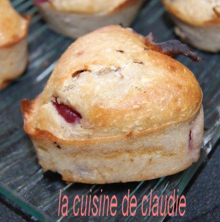 recettes entrees  Les minis cakes façon flammekueche....