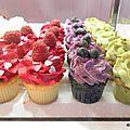 J'ai testé... les <b>cupcakes</b> de Berko (Paris)