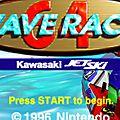 Wave <b>Race</b> 64 de retour cette semaine sur la Console Virtuelle de la Wii U