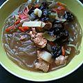 Soupe asiatique facile