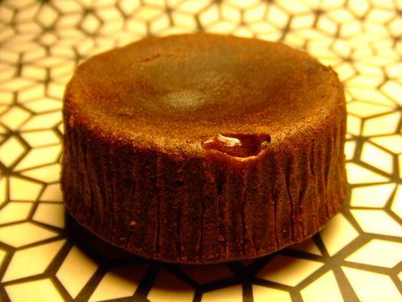 recettes dessert  Moelleux coulant caramel au beurre salé
