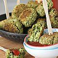 Croquettes de brocoli ou comment faire manger des brocolis aux enfants