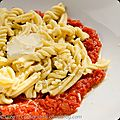 <b>Fusilli</b> au safran