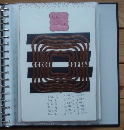 rangement dies folders et nestabilities. Black Bedroom Furniture Sets. Home Design Ideas