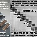 escalier suspendu, floating stair,suspended staircase,