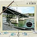Sous les ponts de Paris Scrap digital de Kokhine