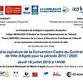 Le Contrat de Ville Etat - Ville d'<b>Agde</b> a été signé ...