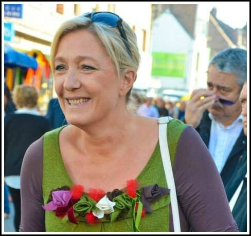 Marine Le Pen Hénin-Beaumont 07092013