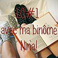 <b>Lecture</b> <b>Commune</b> avec Nina #1