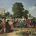 Dirck <b>Hals</b>, The outdoor party, 1627