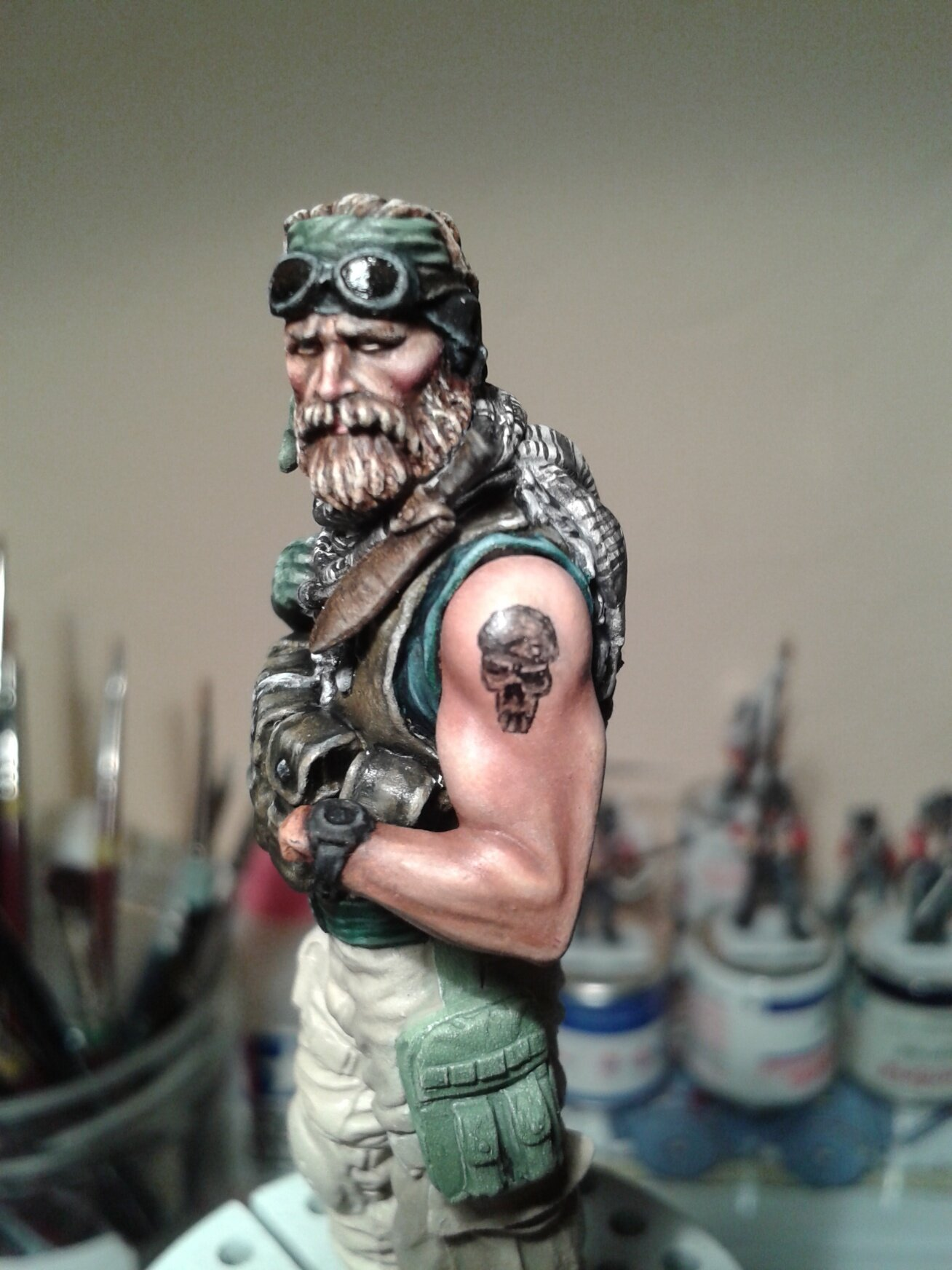 Green Beret-knight models TERMINE 104262875_o