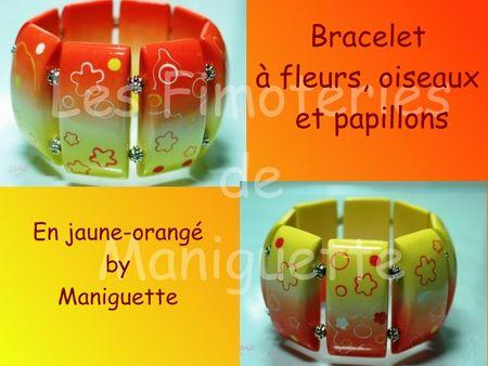 Bracelet___fleurs_jaune_orang_
