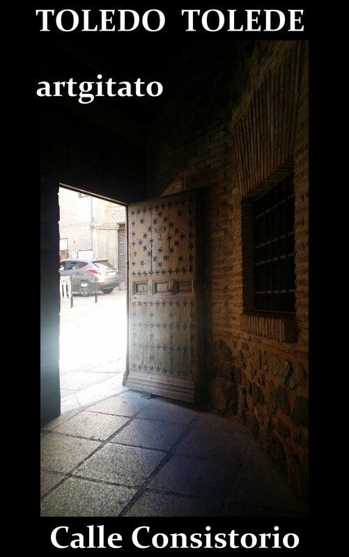 Tolede Toledo Artgitato calle consistorio