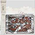 Les toits de Florence Scrap digital de Kokhine 