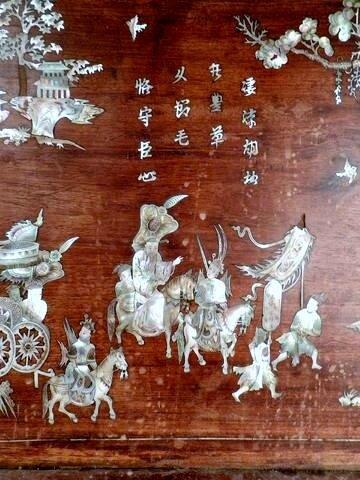 Panneau en bois decoratif