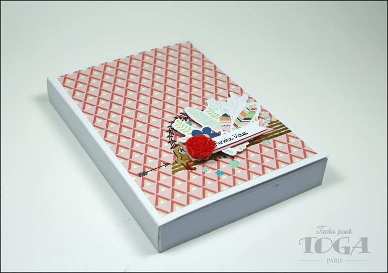 Agenda collection Plumes - DT Tacha 1p