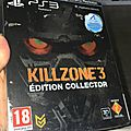 boitier edition collector <b>playstation</b> 3 killzone 3