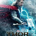 Affiche et teaser annonc pour <b>Thor</b> - Le Monde des Tnbres !