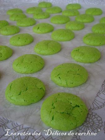 Recette de muffin à la pistache et aux macarons ratés