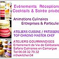 CHEF A DOMICILE MONTPELLIER