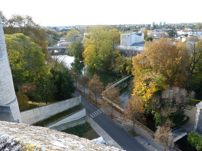 Les bords de Sèvre en automne