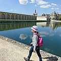 En famille au <b>château</b> de Chantilly
