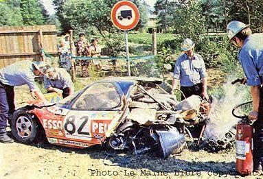 10a - 1981 - Le Mans N° 82 Pulvérisée par T